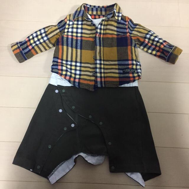 BREEZE(ブリーズ)のBREEZE ロンパース 70 キッズ/ベビー/マタニティのベビー服(~85cm)(ロンパース)の商品写真