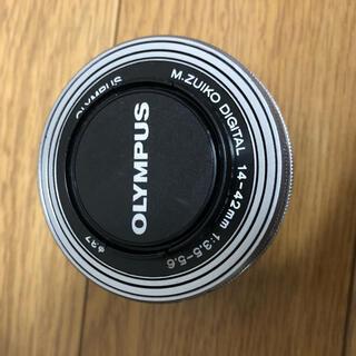 オリンパス(OLYMPUS)のOLYMPUS M.ZUIKO DIGITAL 14-42mm SLV(レンズ(ズーム))