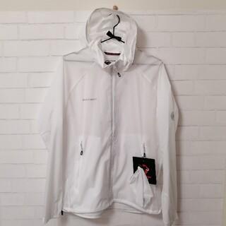マムート(Mammut)の【新品】Mammut  WING Jacket Men XLサイズ 白(登山用品)