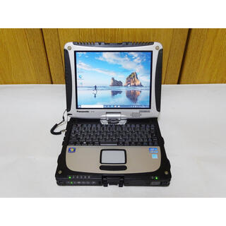 Panasonic - SSD 240GB&メモリ12G タフブック CF-19 第2世代Core i5