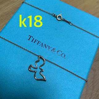 Tiffany & Co. - ティファニー 鳩 ダブ パロマピカソバードネックレスk18 750ゴールド 希少