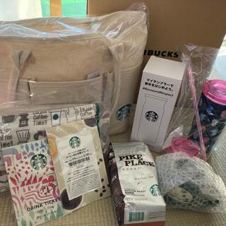 スターバックスコーヒー(Starbucks Coffee)のスターバックス  福袋 2021 抜き取りなし(ノベルティグッズ)