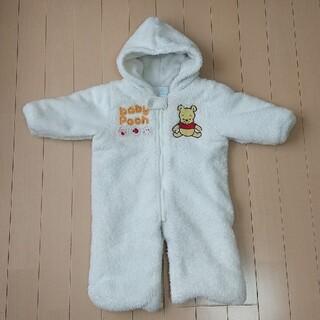 Disney - くまのプーさん もこもこジャンプスーツ 50~70cm
