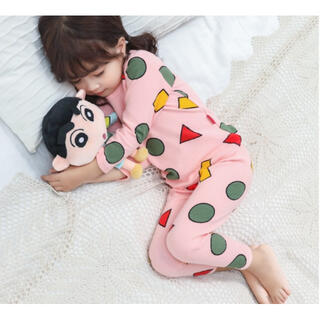 ♡ピンク150♡新品 パジャマ 男女OK!部屋着 長袖  セットアップ(パジャマ)