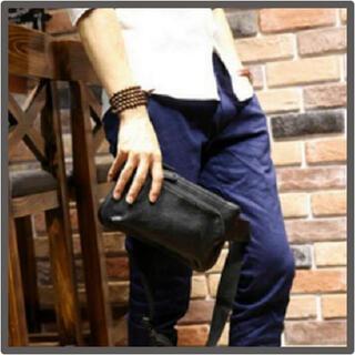 ボディバッグ 斜めがけ メンズ PUレザー 鞄 ワンショルダー 防水 シンプル(ボディーバッグ)