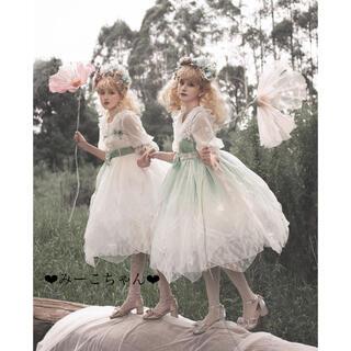 Angelic Pretty - 妖精の国・鈴蘭 ドレスフルセット 姫ロリ 甘ロリ しゅくれどーる ロリィタ