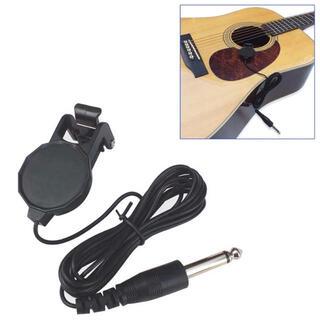 【送料込み】アコースティック楽器用外付けピックアップ  ギター ウクレレ等...(アコースティックギター)
