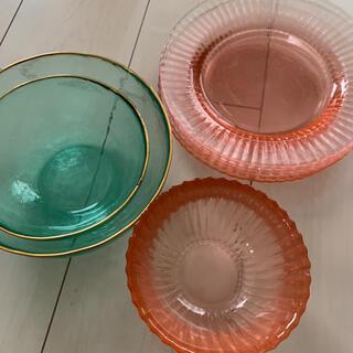 Francfranc - フランフラン 食器セット Francfranc ガラス皿 麺皿