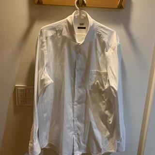 メンズ 白色 カッターシャツ  LLサイズ(シャツ)