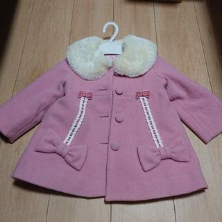 Shirley Temple - 【最終値下げ】美品 シャーリーテンプル はしごレース リボン コート