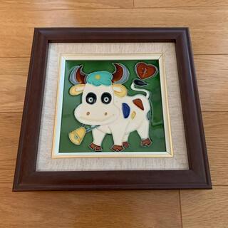 絵画 【新品未使用品】牛(絵画/タペストリー)