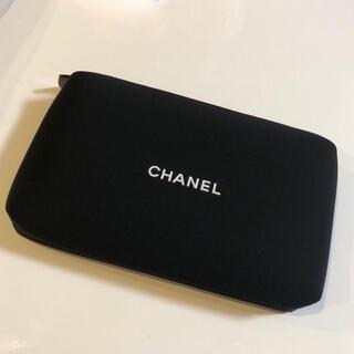 シャネル(CHANEL)のシャネル ポーチ CHANEL ノベルティー ブラック 黒 コスメ レディース(ポーチ)