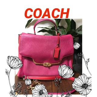 COACH - COACH 【コーチ】 ハンドバッグ&ショルダーバッグ ターンロック