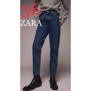 ZARA - 8 ZARA ザラ 新品 マムフィットデニムパンツ  36