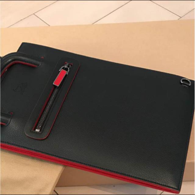 Christian Louboutin(クリスチャンルブタン)のクリスチャンルブタン3waysバッグ メンズのバッグ(セカンドバッグ/クラッチバッグ)の商品写真