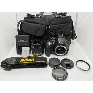 Nikon - ニコン D5300 AF−Pズームキット⭐最新レンズ一番人気WiFi一眼レフ
