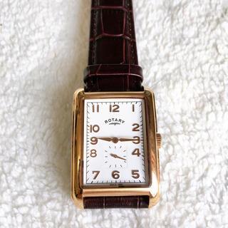 ロータリーグループ(ROTARY GROUP)のROTARY スクエア型 腕時計 レザーベルト(腕時計)