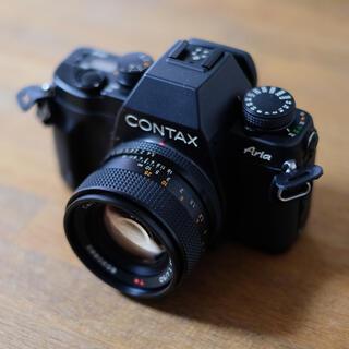 フジフイルム(富士フイルム)のcontax aria plannar 50mm f1.4 コンタックス アリア(フィルムカメラ)