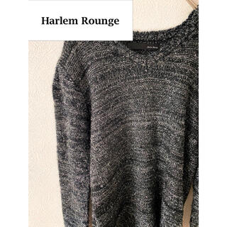 Harlem Rounge ニット セーター 光沢 定価2万(ニット/セーター)