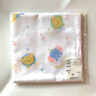 新品未使用品 赤ちゃんの城 ガーゼハンカチ 3枚組(その他)