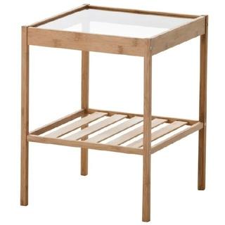 イケア(IKEA)の最安値新品未開封IKEA(イケア  )ベッドサイドテーブル NESNA ネスナ(コーヒーテーブル/サイドテーブル)