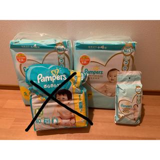 ピーアンドジー(P&G)のパンパース テープS 2袋セット(ベビー紙おむつ)