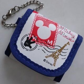 Disney - 【同梱50円】☆ ディズニー ミッキーマウス チェーン付き 小銭入れ