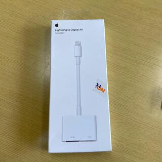 アップル(Apple)のApple Lightning Digital AVアダプター 美品(映像用ケーブル)