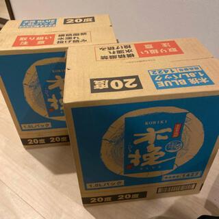 雲海酒造 木挽BLUE 1800mlパック 12本セット 2ケース分(焼酎)