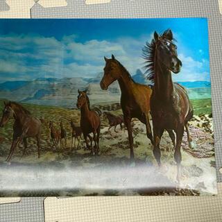 馬の絵3D(絵画/タペストリー)