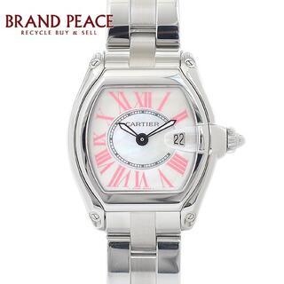 カルティエ ロードスター レディース シェル文字盤 SS クォーツ 2008クリ(腕時計)