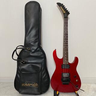 KRAMER リバースヘッド スルーネック GOTOHペグ QUAD RAIL(エレキギター)