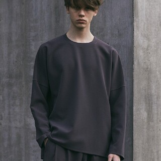 アタッチメント(ATTACHIMENT)の WYM × ATTACHMENT ブラウン s(Tシャツ/カットソー(七分/長袖))