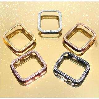 アップルウォッチ 最高ランクダイヤカバー カラーサイズ各種(腕時計)