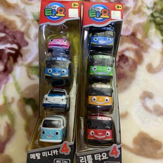 韓国 おもちゃ タヨバス 2点(電車のおもちゃ/車)