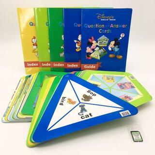ディズニー(Disney)の2012年購入!Q&Aカード メモリーカード付 ディズニー英語システム DWE(知育玩具)