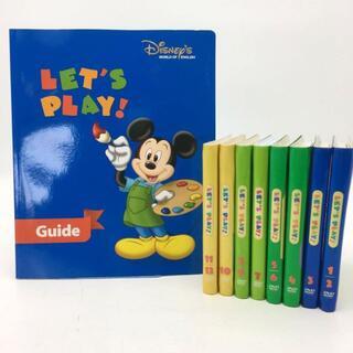 ディズニー(Disney)の2012年購入!レッツプレイDVD プレビュー・字幕あり ディズニー英語 DWE(知育玩具)