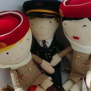 ジャル(ニホンコウクウ)(JAL(日本航空))のエミレーツ航空 ぬいぐるみ セット(ぬいぐるみ/人形)