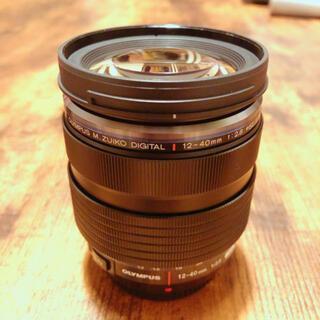 オリンパス(OLYMPUS)のオリンパス M.ZUIKO 12-40mm/F2.8 PRO 中古美品標準ズーム(レンズ(ズーム))