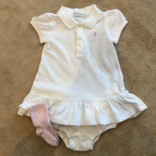 ラルフローレン(Ralph Lauren)のラルフローレン  ベビ- 70 ポロシャツ ワンピース(ワンピース)