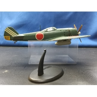 日本陸軍.四式戦闘機.疾風、プラモデル完成品(模型/プラモデル)