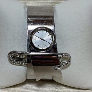 ヴィヴィアンウエストウッド(Vivienne Westwood)のヴィヴィアンウエストウッド  バングル腕時計 セーフティピン(腕時計)