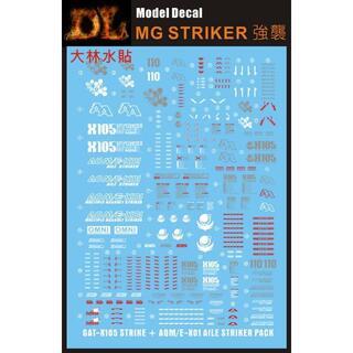 MG ストライクガンダムver.rm水転写デカール(並行輸入品)(模型/プラモデル)
