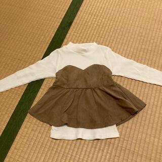 グローバルワーク(GLOBAL WORK)のドッキングロンT(Tシャツ(長袖/七分))