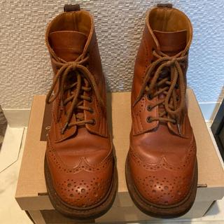 トリッカーズ(Trickers)のトリッカーズ Tricker's MALTON ウィングチップブーツ(ブーツ)