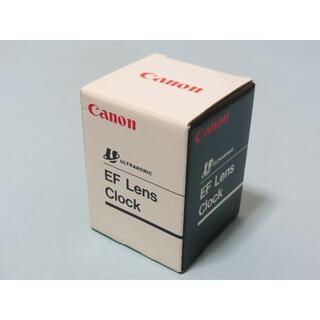 キヤノン(Canon)のCanon EFレンズ置時計【未使用品】(その他)