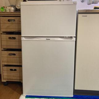 ハイアール(Haier)のHaier JR-N91K(W) 冷蔵庫 ひとり暮らし 91L(冷蔵庫)
