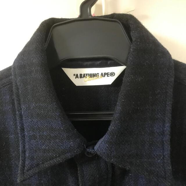 A BATHING APE(アベイシングエイプ)のA BATHING APEウールシャツ メンズのトップス(シャツ)の商品写真