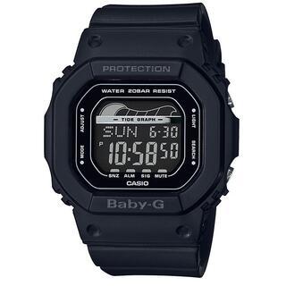 カシオ(CASIO)のカシオ BABY-G タイドグラフ搭載 腕時計 BLX-560-1JF ブラック(腕時計)