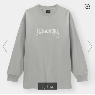 ジーユー(GU)のGU ハリーポッター 長袖ロングTシャツ M(Tシャツ(長袖/七分))